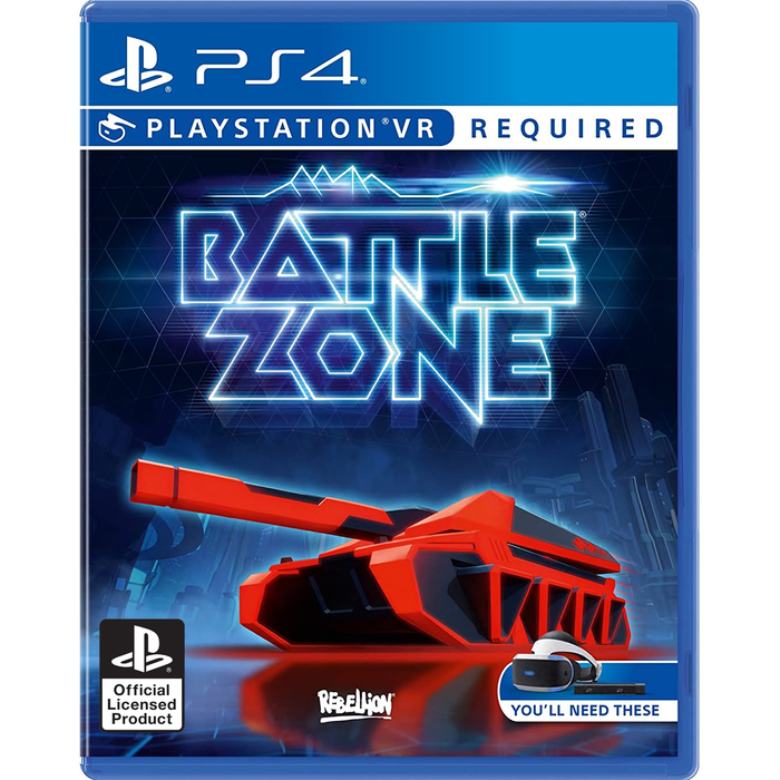 PS4 VR Battle Zone (R3)