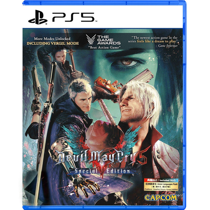 PS5 Devil May Cry 5 Special Edition (R3)