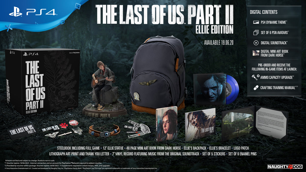 PS4 The Last of Us Part 2 Ellie Edition (R3)