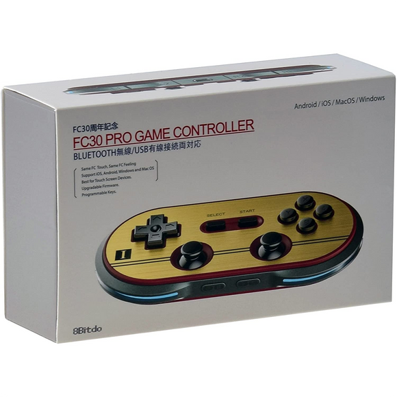 8Bitdo FC30 Pro Game Controller for Nintendo Switch