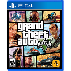 PS4 Grand Theft Auto V (GTA) (R1)