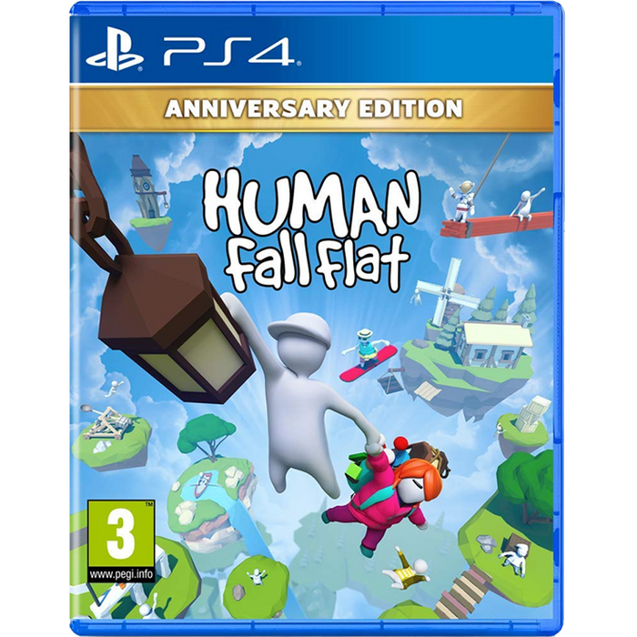 PS4 Human Fall Flat Anniversary Edition (R2)