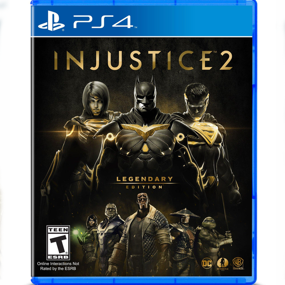 PS4 Injustice™ 2 Legendary Edition (R1)