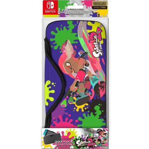Keys Factory Quick Pouch Splatoon 2 (Type A) for Nintendo Switch