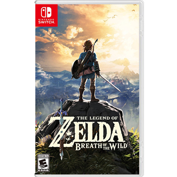 Nintendo Switch Zelda Breath of the Wild (MDE)