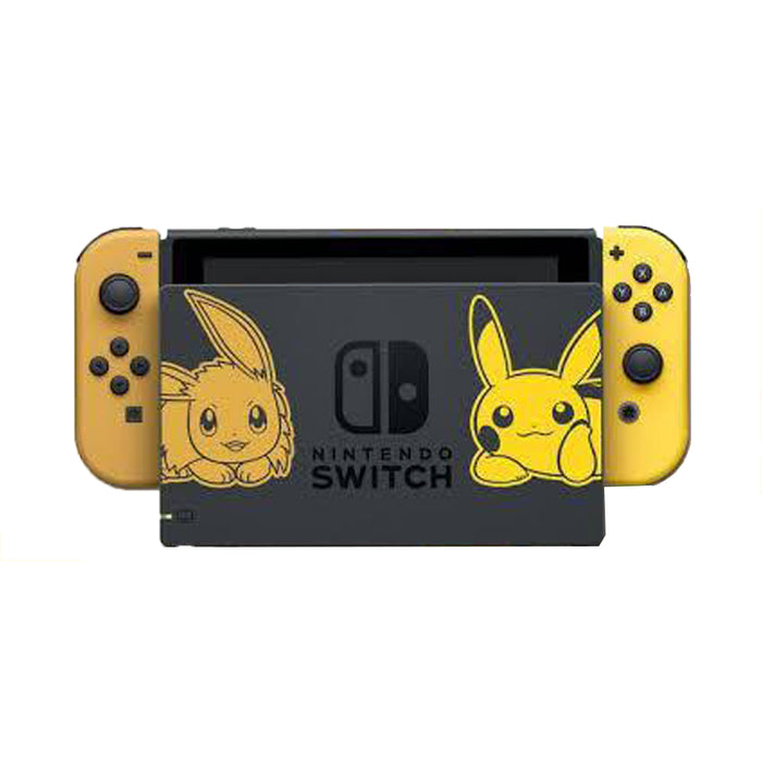 Nintendo Switch (V1) Unit Pokemon Eevee Bundle (MDE)