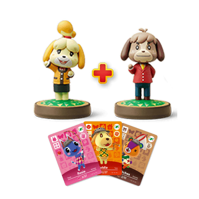 Nintendo Wii U Animal Crossing Amiibo Festival Bundle Include 2 Amiibo and 3 Amiibo Card (US)