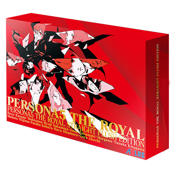 PS4 Persona 5 The Royal Straight Flush Edition (R3)