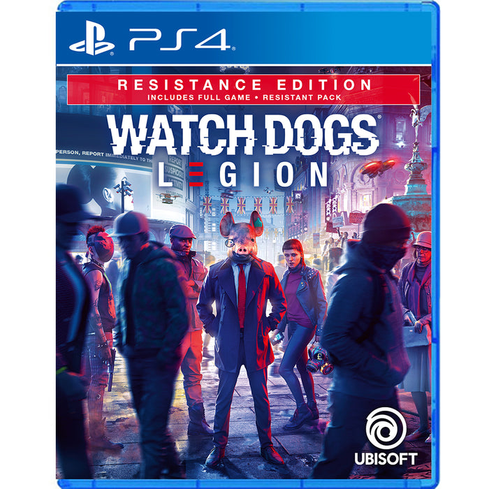 PS4 Watch Dogs Legion Resistance Edition (R3)