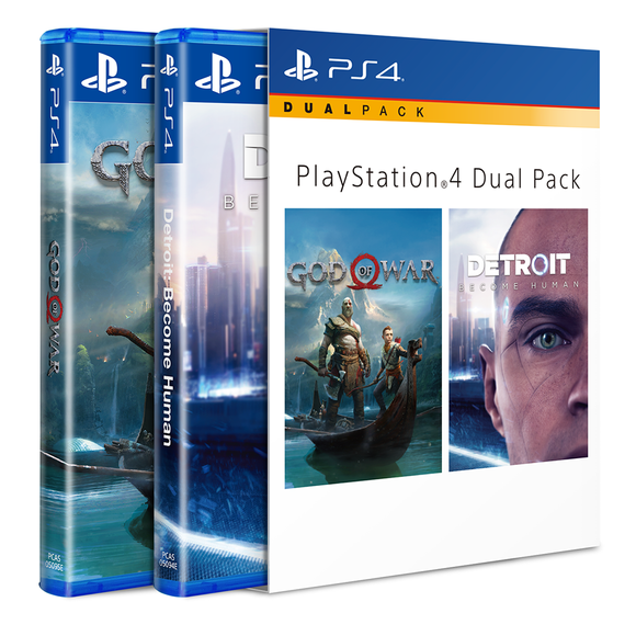 PS4 Masterpiece Pack (God of War/ Detroit: Become Human) (R3)