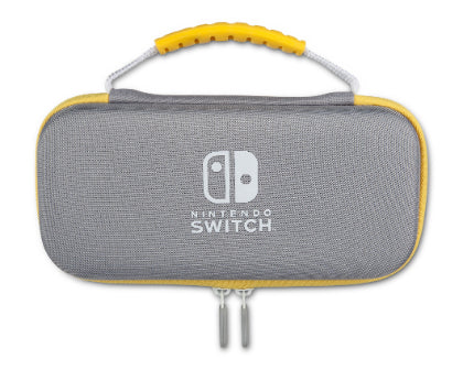 PowerA Protection Case Kit for Nintendo Switch Lite (Gray/Yellow)