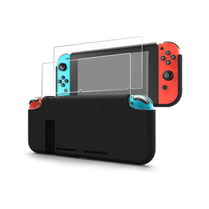 Tomtoc Liquid Silicone Case for Nintendo Switch (Black)