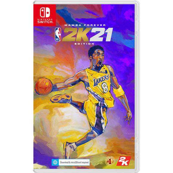 Nintendo Switch NBA 2K21 (Mamba Edition Forever Pre-Order Downpayment)