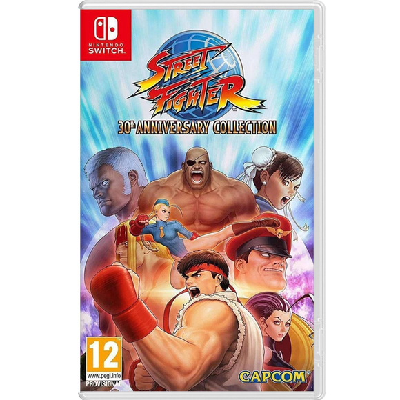Nintendo Switch Street Fighter: 30th Anniversary Collection