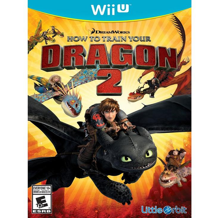 Wii How to Train Your Dragon 2 (US)