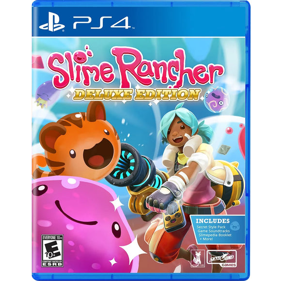 PS4 Slime Rancher Deluxe Edition (R1)