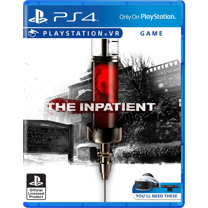 PS4 VR The Inpatient (R3)