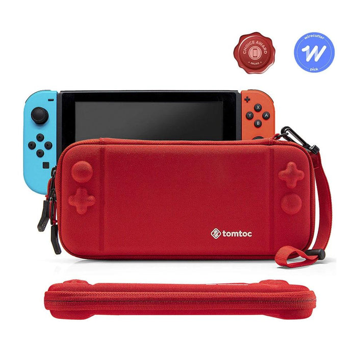 Tomtoc Slim Case for Nintendo Switch (Red)