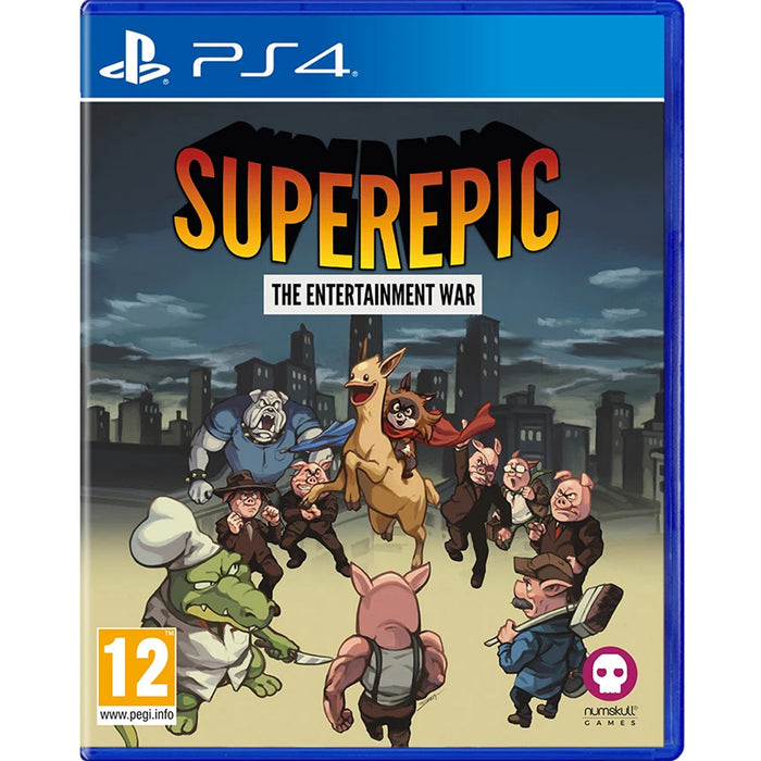 PS4 Superepic The Entertainment War (R2)
