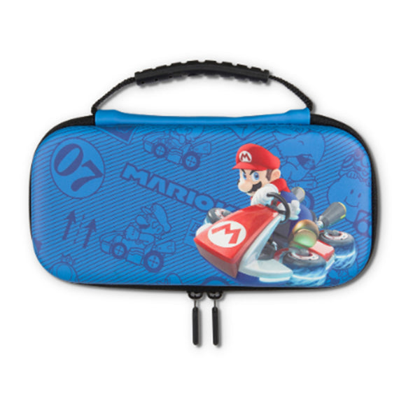 PowerA Protection Case Kit for Nintendo Switch Lite (Mario Kart Blue)
