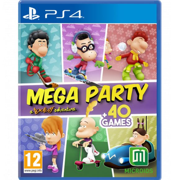 PS4 Mega Party A Tootuff Adventure (R2)