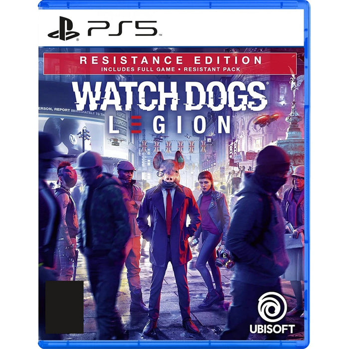 PS5 Watchdogs Legion Resistance Edition (R3)
