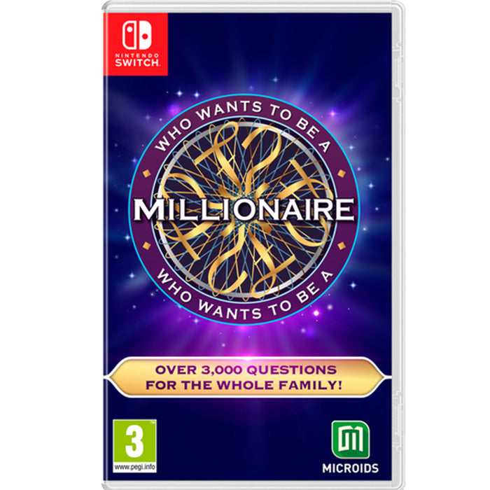 Nintendo Switch Who Want to Be a Millionaire (EU)