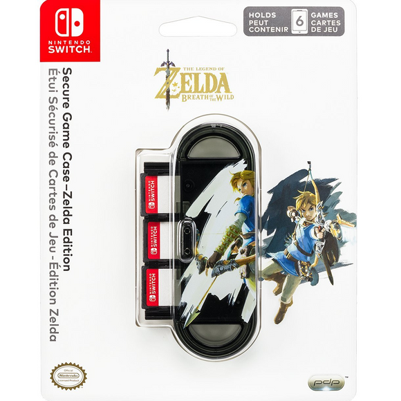 PDP Secure Game Case Zelda Edition for Nintendo Switch