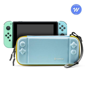 Tomtoc Slim Protective Case for Nintendo Switch (Mint Blue) - [A05-001B02]