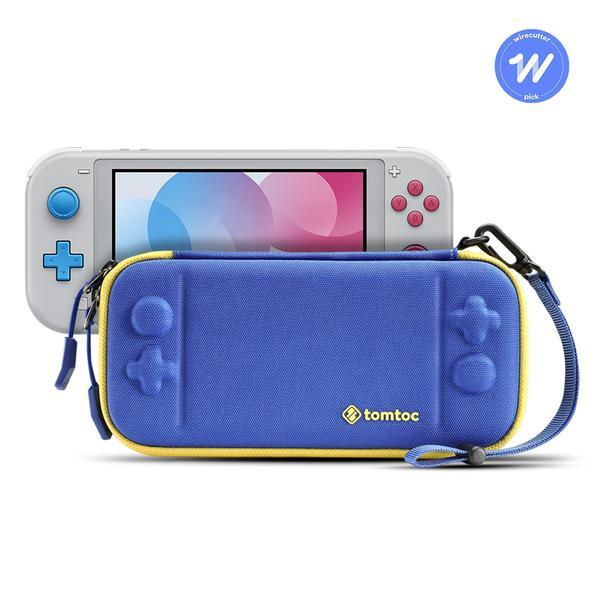 Tomtoc Slim Case for Nintendo Switch lite (Flashy Blue) - [A05011B]