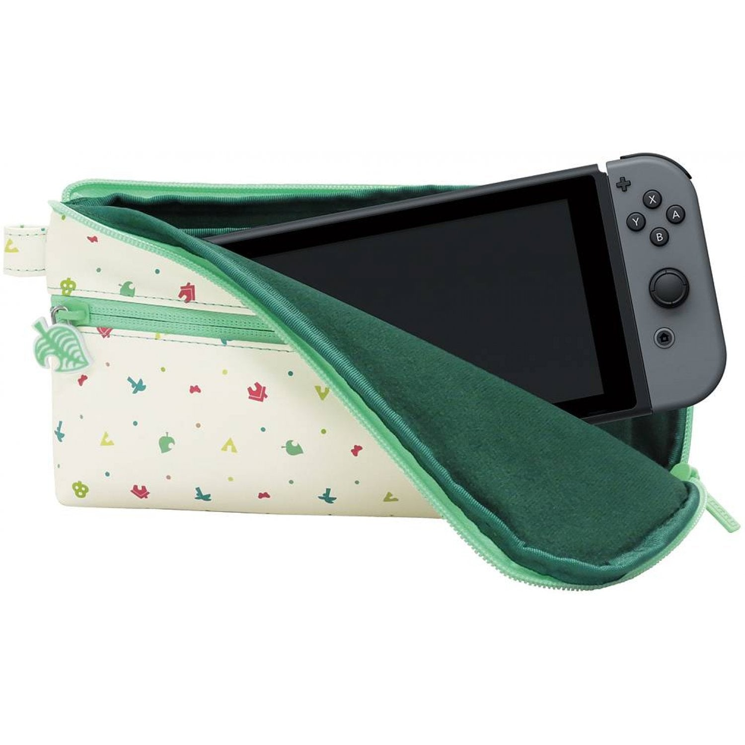 Hori Animal Crossing Hand Pouch For Nintendo Switch Nsw 239a