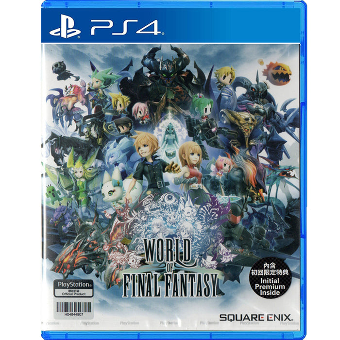 PS4 World of Final Fantasy (R3)