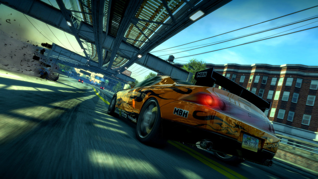 PS4 Burnout Paradise Remastered (R3)
