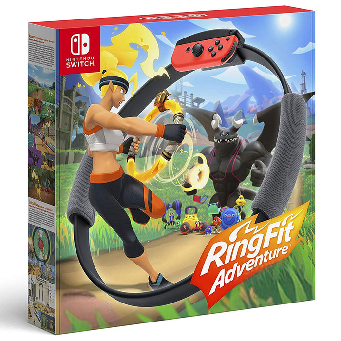 Nintendo Switch Ringfit Adventures (SEA-ENG.)