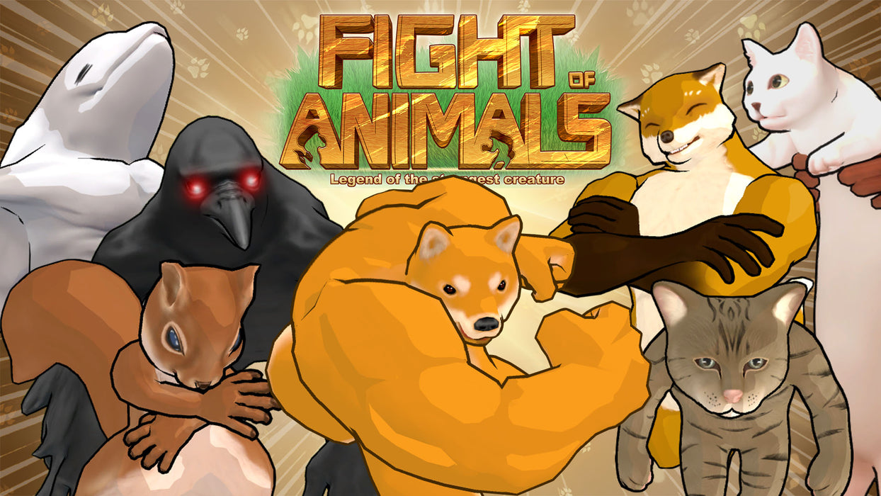Nintendo Switch Fight of Animals (ASIA)