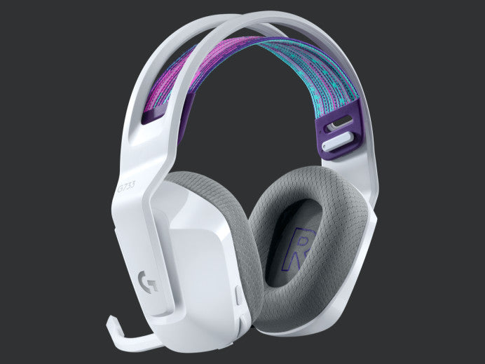 Logitech G733 Lightspeed Wireless RGB Gaming Headset - White