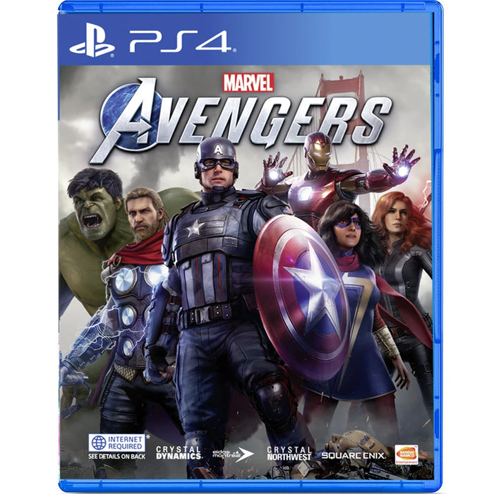 PS4 Marvel's Avengers Standard Edition (R3)