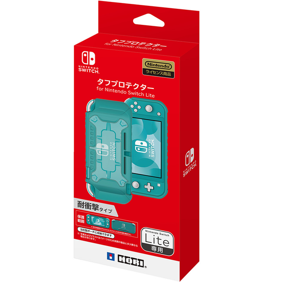 HORI Tough Protector for Nintendo Switch Lite - Clear X Turquoise (NS2-055)