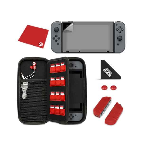 PDP Starter Kit-Mario Icon Edition for Nintendo Switch (500-031)