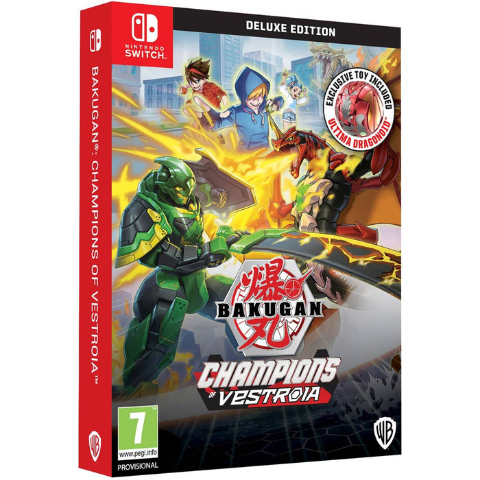 Nintendo Switch Bakugan Champions of Vestroia Deluxe Edition (EU)