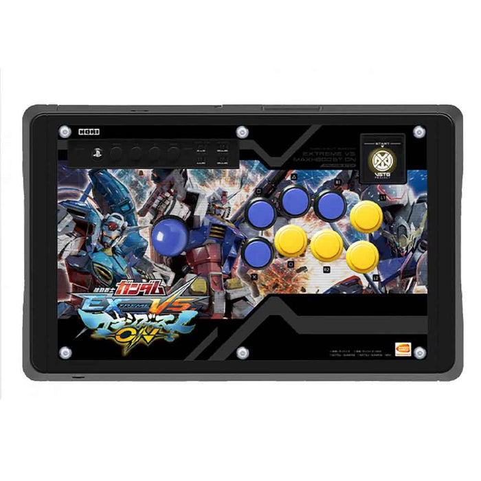 PS4 HORI R. Arcade Pro N Hayabusa (MOBILE SUIT GUNDAM: EXTREME VS. MAXIBOOST ON)