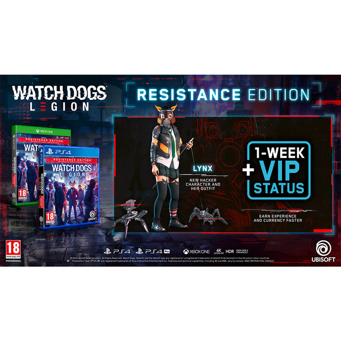 Xbox1 Watch Dogs: Legion [Resistance Edition]