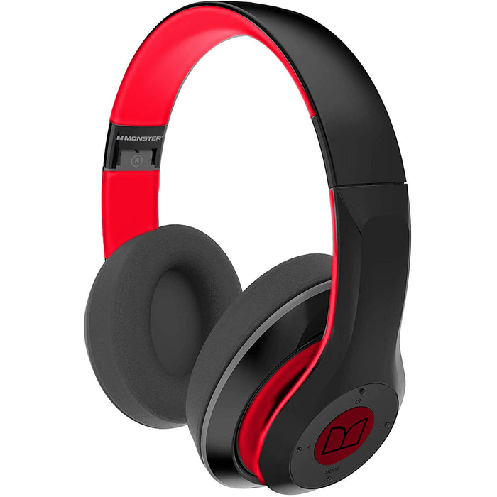 Monster Clarity N-Tune 450 BT Headphone Red Edition