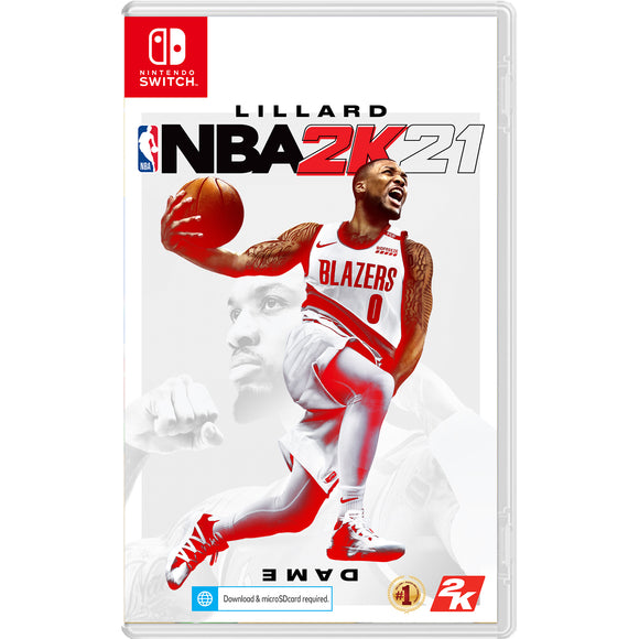 Nintendo Switch NBA 2K21 (Standard Edition Pre-Order Downpayment)