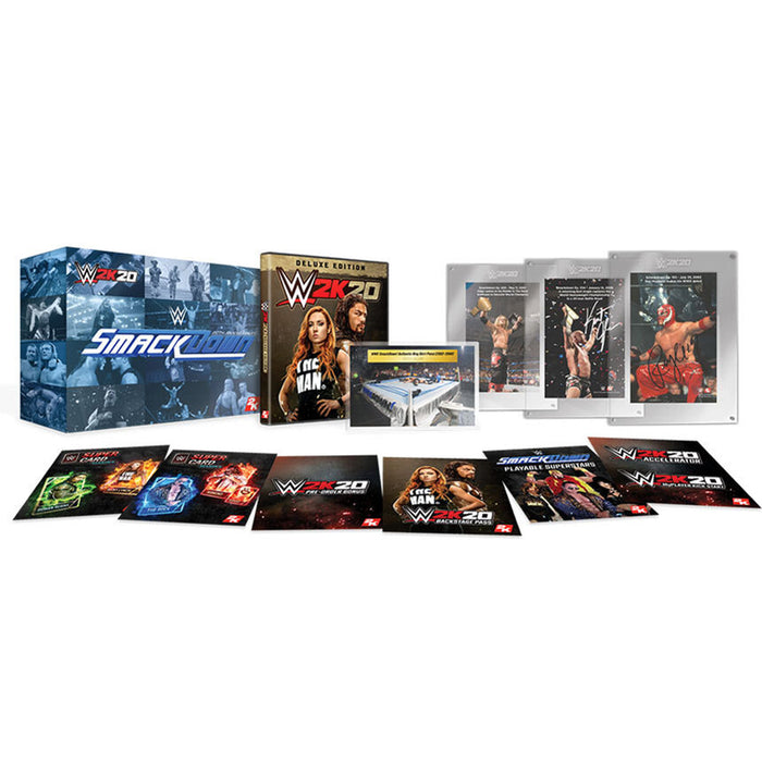 PS4 WWE 2K20 SmackDown! 20th Anniversary Collectors Edition (R3)