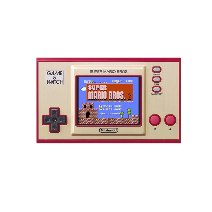 Nintendo Game & Watch New Super Mario Bros With Adapter (MDE)