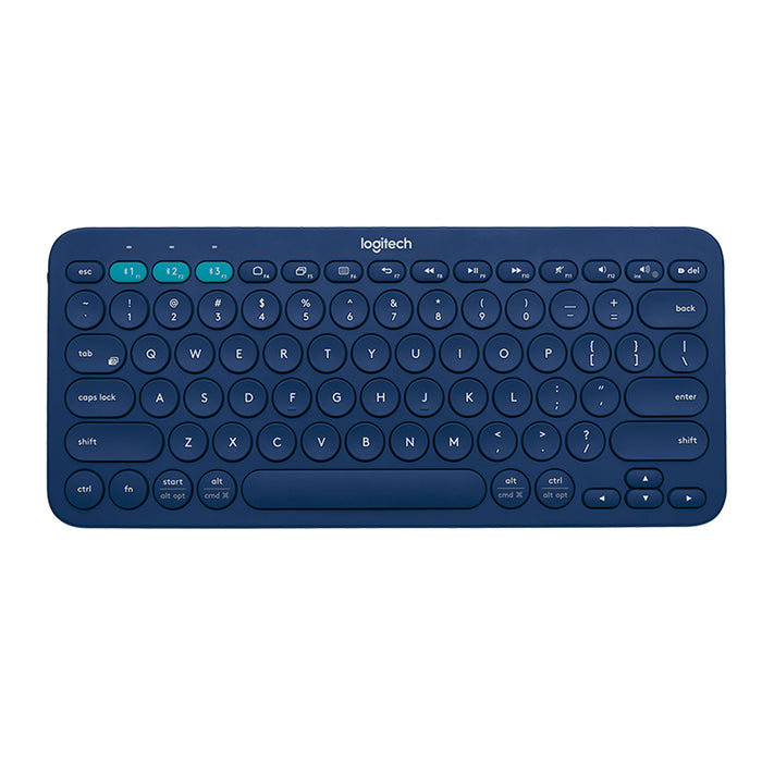 Logitech K380 Bluetooth Multi Device Keyboard - Blue