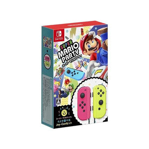 Nintendo Switch Super Mario Party Bundled with Joy-Con L/R Neon Pink/ Yellow