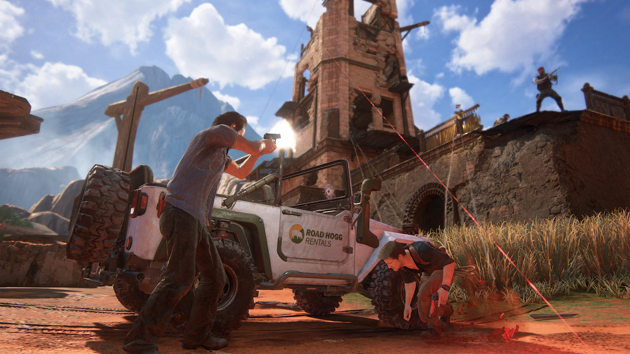 PS4 Hits Uncharted 4 A Thief's End (R3)