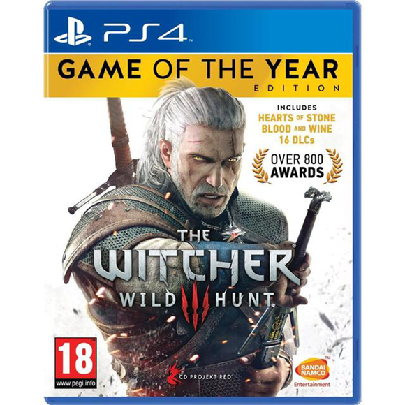 PS4 The Witcher 3: Wild Hunt (Game of the Year Edition) (R3)